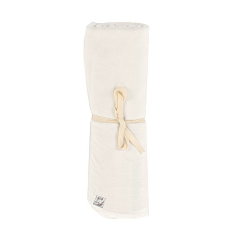 Pure White Cocoon Swaddling Blanket - 1