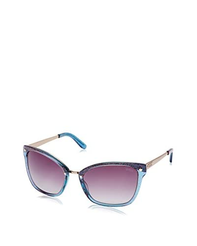 GUESS Gafas de Sol 7353 (58 mm) Azul / Rosa