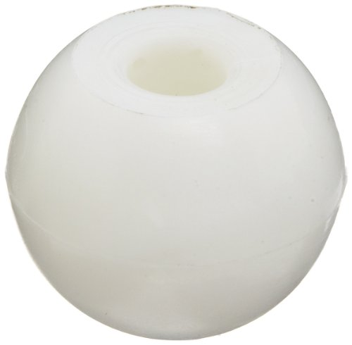 Molecular Models White Plastic Hydrogen Monovalent Atom Center, 17mm Diameter (Pack of 25)