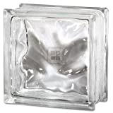 Qualtiy Glass Block 8 x 8 x 4 Decora Glass Block