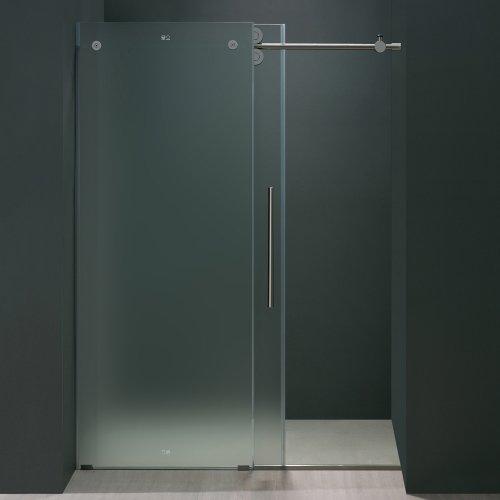 Vigo Elan 56 To 60 In Frameless Sliding Shower Door With
