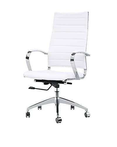 Manhattan Living Sopada Conference Office Chair, White