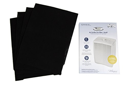 Whirlpool 8171433K Air Purifier Carbon Pre-Filters, Small, 4-Pack
