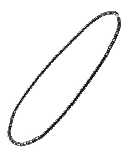 Men's or Women's Magnetic Hematite Necklace, 24 Inches, Strong Magnetic Clasp, #1