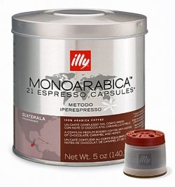 Find illy iperEspresso capsules - Monoarabica GUATEMALA - 2 tins (2 x 21 capsules) from illy