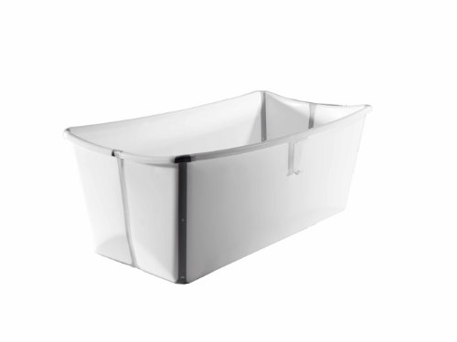 Prince Lionheart Flexibath Foldable Bathtub, White
