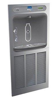 Elkay Lzwsm8K Ezh2O Bottle Filling Station, Filtered, 8.0 Gph, Ada, Greenspec Listed, Refrigerated, Includes Mounting Box