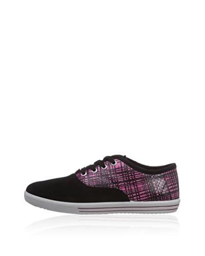 Ricosta Zapatillas schwarz/rosa
