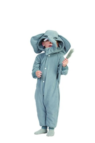 Funsies Kigurumi Peanut Elephant Fleece Jumpsuit Costume Child Toddler