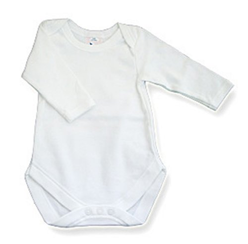 Wholesale Baby Onesies in Solid Colors - Bulk White Onesies - Newborn Onesies in Solid Colors - Plain Baby Onesies The Laughing Giraffe Range of Onesies is designed for Embroidery, Screen Printing & Iron on Transfers and Dye Sublimation Printing.