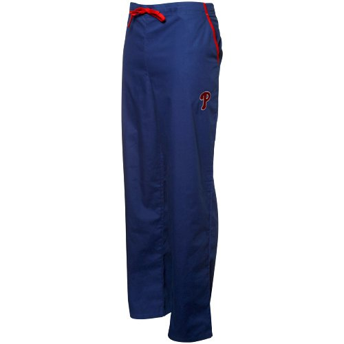 Philadelphia Phillies Royal Blue Scrub Pants (Large) at Amazon.com