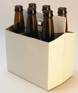 6 Pack Bottle Carrier front-45499