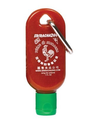 Licensed 1 oz Mini-Sriracha2Go 3-Pack (Shipped Empty)