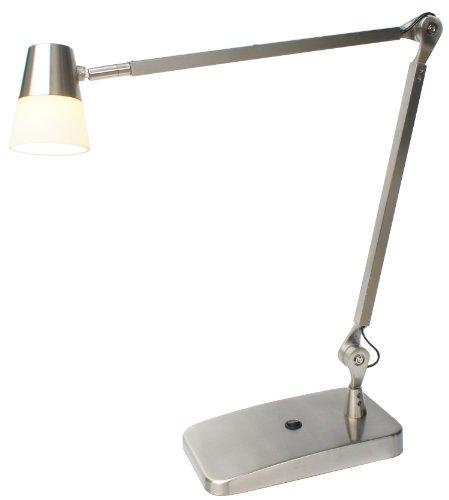 Adesso 3272-22 Vision Led Desk Lamp, Satin Steel