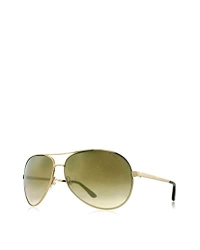 Tom Ford Men's Charles TF35 Sunglasses, Rose Gold