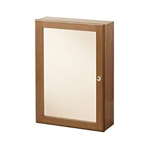 heoc1724 heartland oak bathroom medicine cabinet home improvement