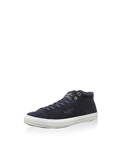 Pepe Jeans Sneaker Alta Luke [Blu Navy]