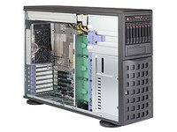 Supermicro SuperServer 7048R-C1R Barebone System - 4U Tower - Intel C612 Express Chipset - Socket R3 (LGA2011-3) - 2 x Processor SYS-7048R-C1R