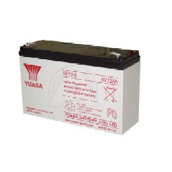 YUASA NP12-6 Akku Blei PB 6 Volt 12Ah from Yuasa Battery