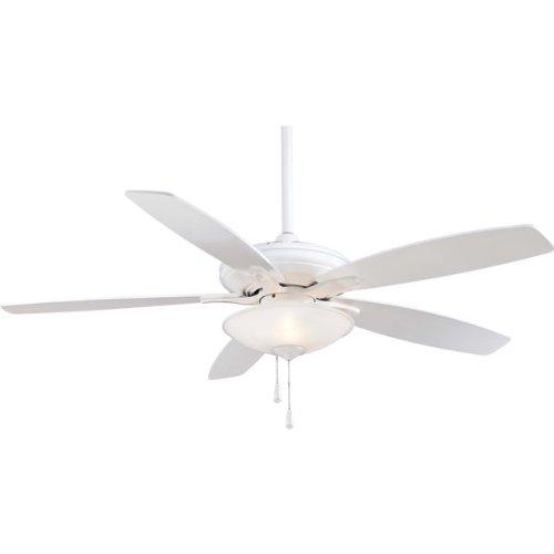 Minka Aire F522-WH Three Light White Ceiling Fan