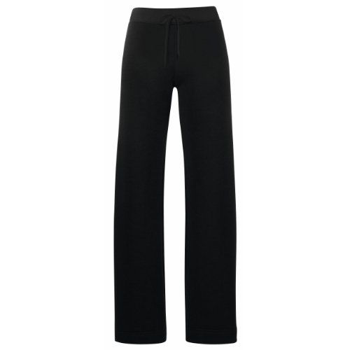 Fruit of the Loom -  Pantaloni sportivi  - Donna Nero  nero