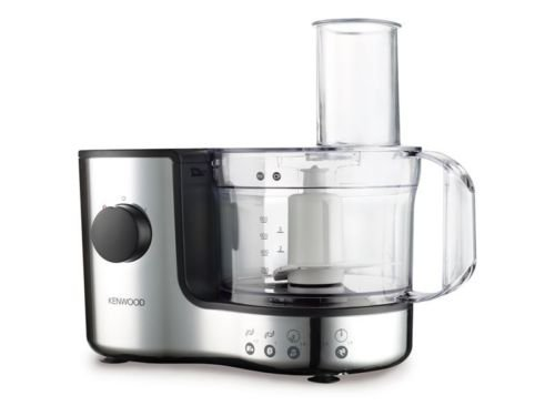 BRAND NEW KENWOOD CHROME COMPACT FOOD PROCESSOR 1.4L 400W