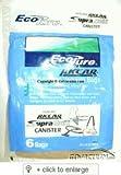 Riccar Supra-Quik Vacuum bags - Genuine - 6 Packs