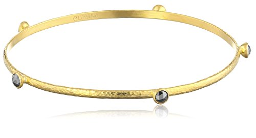 GURHAN-Skittle-Black-Diamond-and-24k-Gold-Bangle-Bracelet