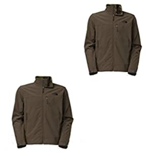 The North Face Jacket, Apex Bionic Water Repe Black Ink Green L