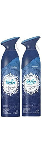Febreze Air Effects Limited Edition Air Freshener Room Spray - Winter Magic & Glow 9.7oz (Pack of 2)