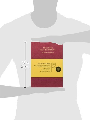 Ubs5 Greek New Testament-FL-Reader