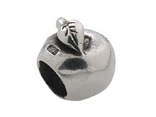 Zable Sterling Silver Apple Bead / Charm