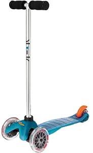 Mini Micro Scooter - Aqua by Micro-Mobility of Switzerland