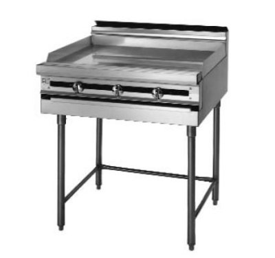"Blodgett Bpm-24Gt Gas 24"" Heavy Duty Range With Griddle, Modular Base front-630437"