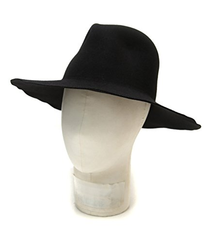KIJIMA TAKAYUKI (キジマ タカユキ COEUR クール) WOOL HAT (ウール ハット クール 帽子 ユニセックス) 2 ブラック