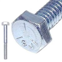 MIDWEST 00277 ZINC HEX SCREW GR5 5/16