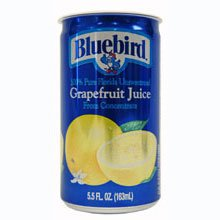 BlueBird Grapefruit Juice, 5.5 Ounce -- 24 per case by Floridas Natural