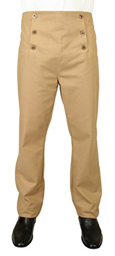 Men's Cotton Blend Regency Fall Front Trousers
