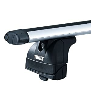 thule aero roof bars fits bmw 5 series 4 door saloon e39. Black Bedroom Furniture Sets. Home Design Ideas