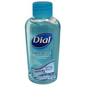 Dial Travel Size Spring Water Body Wash