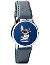 BigOwl Attractive Summer Style Dog Men's Analog Wrist Watch 2003648302-RS1-W-GRY