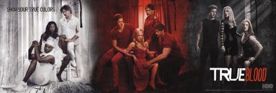 True Blood Poster Poster Print, 36x12
