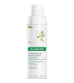 Klorane Dry Shampoo with Oat Milk - Non-Aerosol - All Hair Types , 1.7 oz.