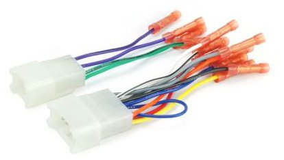 Scosche Radio Wiring Harness for 87+ Ta Pwr/4Spk with Butt Connectors (Toyota Tundra Wiring Harness compare prices)
