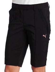 Puma Women's Golf Tech Shorts, Black,0