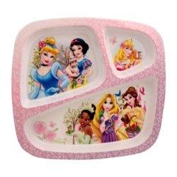 Zak! Designs Three Section Plate - Princess