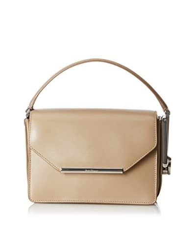 Salvatore Ferragamo Women's Leather Handbag, Beige