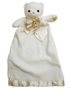 Lovie (Large) - Bernhardt Cream Bear Security Blanket Plush front-783873