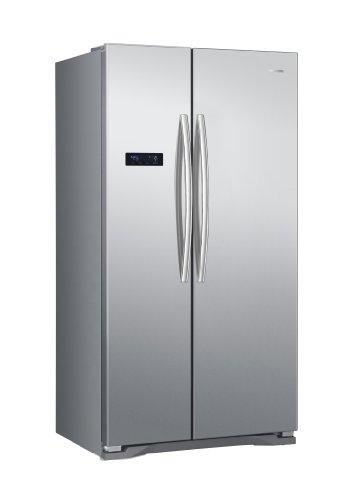 SBS 562 A+ EL Side-by-Side / 176,6 cm Höhe / 458 kWh/Jahr / 370 L Kühlteil / 192 L Gefrierteil / Touch Control Bedienfläche / edelstahl-Look