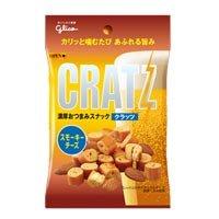 グリコ クラッツ スモーキーチーズ 44G×10袋